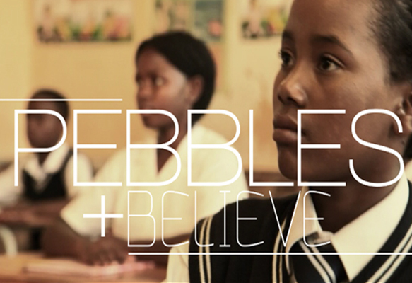 Pebbles video production